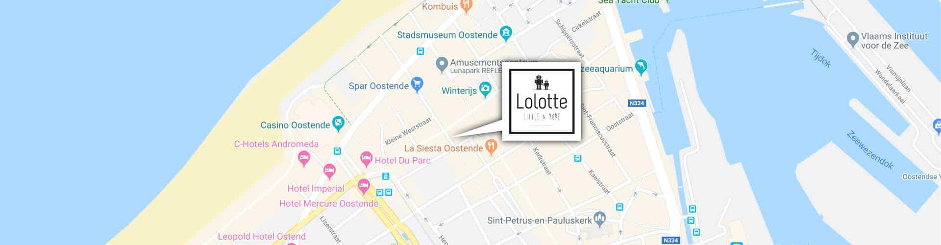 Christinastraat Oostende - Lolotte